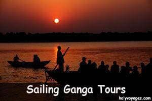sailing ganga tours
